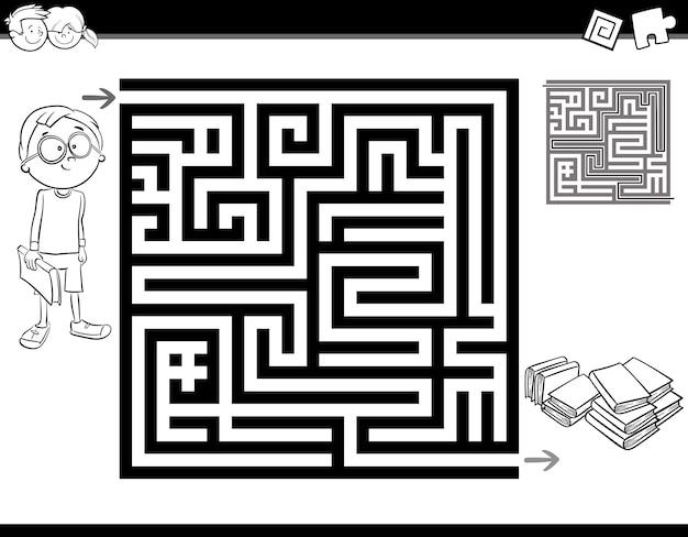 Labirinto da colorare