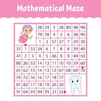 Labirinto matematico.