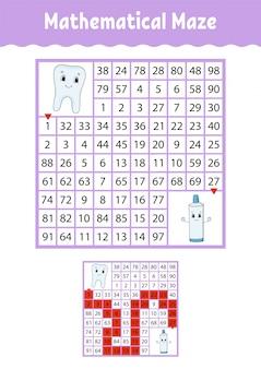 Labirinto matematico