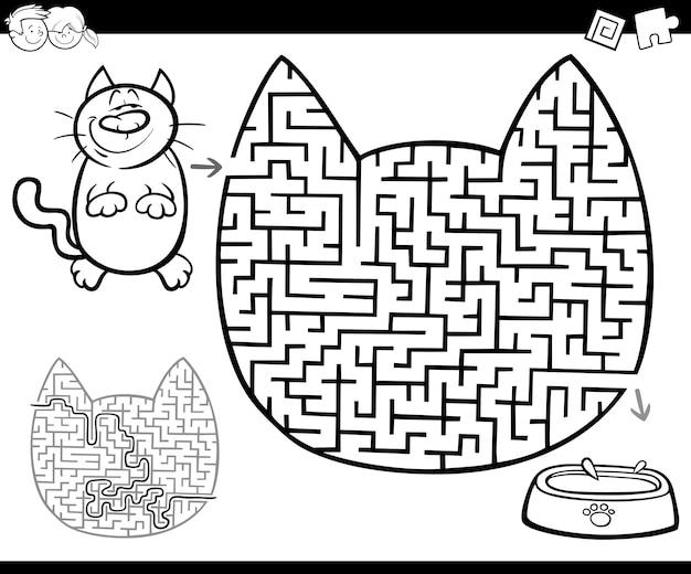 Labirinto o attività di labirinto