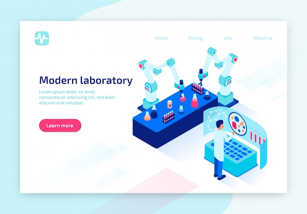 Laboratorio analisi del sangue con tecnologie moderne.