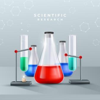 Laboratorio di scienze realistico