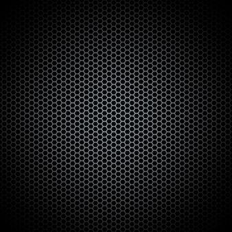 Lamiera perforata struttura in metallo scuro acciaio sfondo.