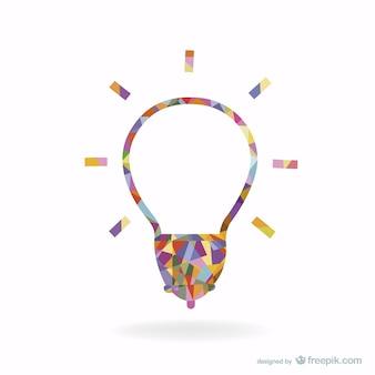 Lampadina design creativo