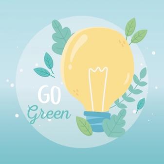Lampadina fogliame piante ecologia dell'ambiente