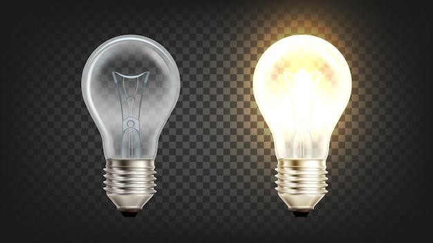 Lampadina incandescente elettrica incandescente