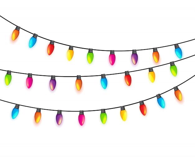 Lampadine a ghirlanda multicolore
