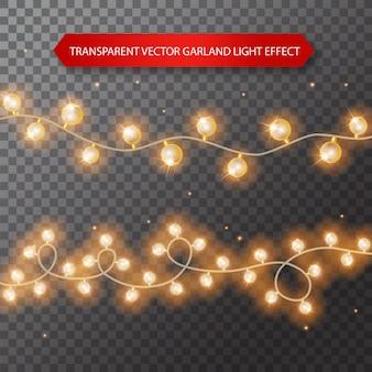 Lampadine isolate su sfondo trasparente