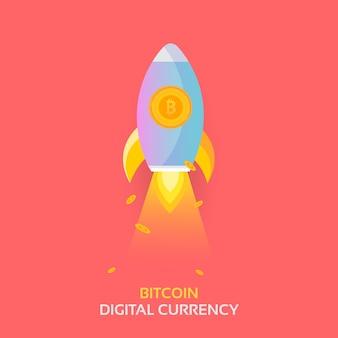 Lancio di missili rocket bitcoin