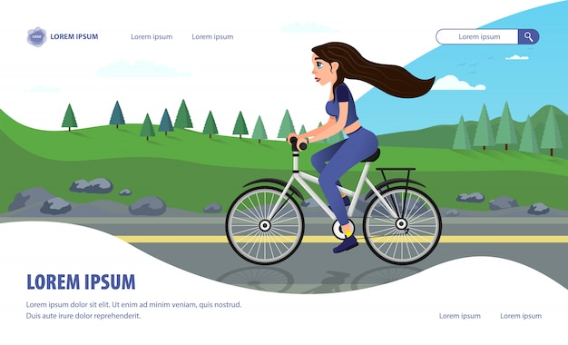 Landing page advertising nuovo film sullo sport