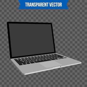 Laptop, notebook isometrico modello di stile 3d.