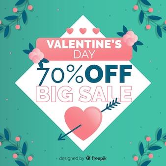 Lascia la priorità bassa di vendita di san valentino