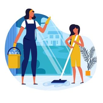 Lavori domestici, faccende domestiche