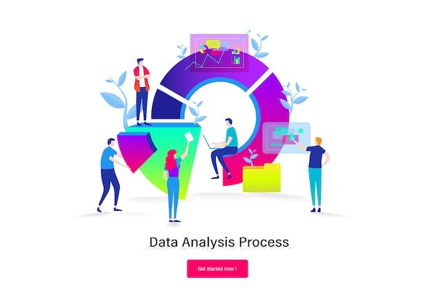 Lavoro di squadra di analisi dei dati