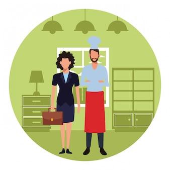 Lavoro e occupazione dello chef