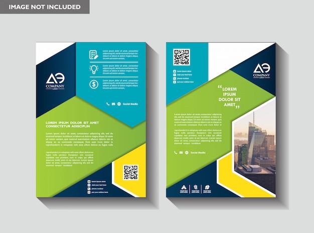 Layout brochure aziendale