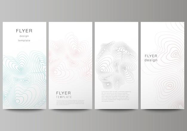Layout di vettore di flyer, modelli di banner design.