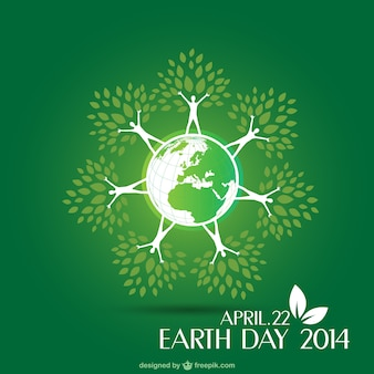 Layout earth day