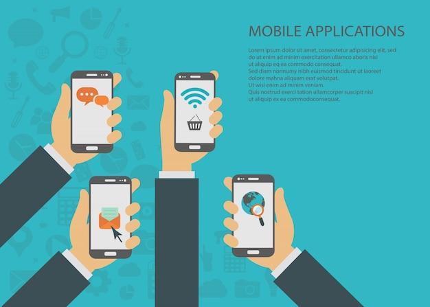 Le applicazioni mobili concept