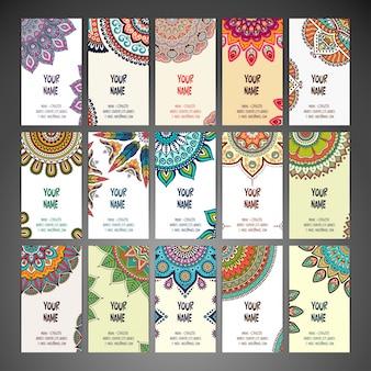 Le carte con mandala