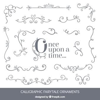 Le fiabe ornamenti di design