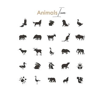 Le icone selvagge hanno riempito 25 riempito