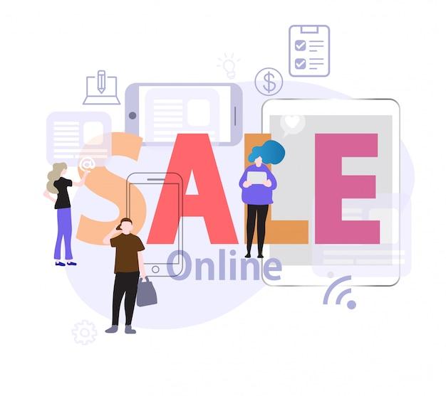 Le persone scelgono di comprare la vendita online