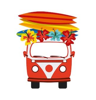 Le vacanze estive progettano, vector il grafico dell'illustrazione eps10