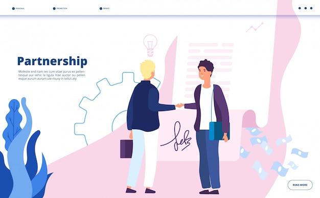 Leader della comunità di partnership di marketing aziendale