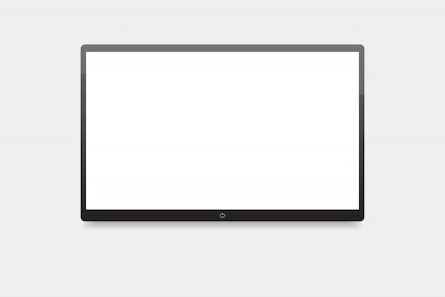 Led tv, schermo tv appeso al muro