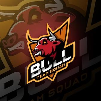 Leggi bull head gaming logo esport