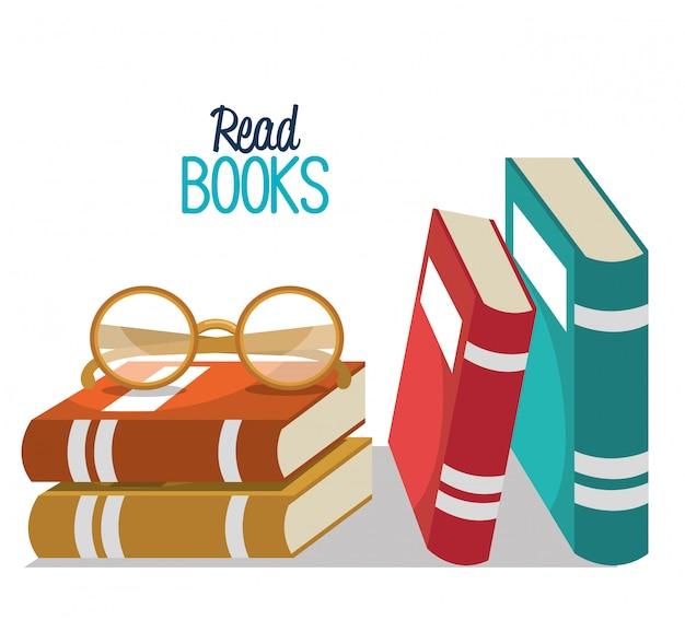 Leggi il design dei libri
