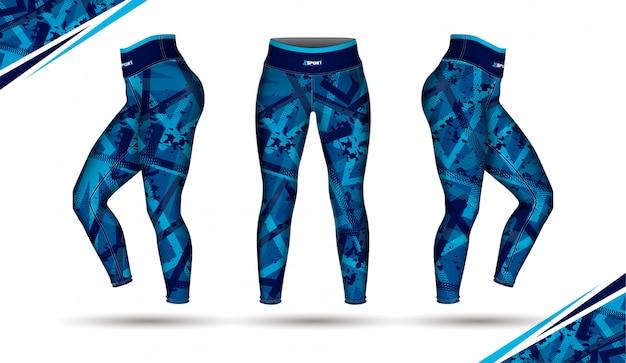 Leggings pantaloni formazione illustrazione di moda
