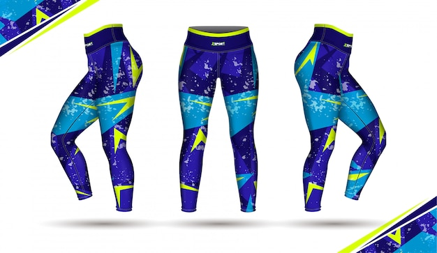 Leggings pantaloni moda allenamento
