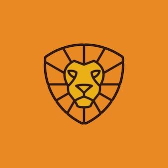 Leone logo vettoriale