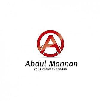 Lettera a logo template
