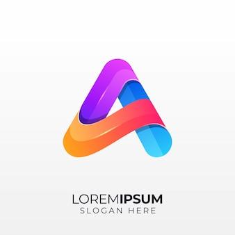 Lettera a logo