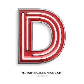 Lettera al neon d