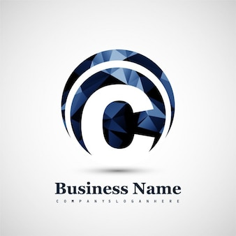 Lettera c logo