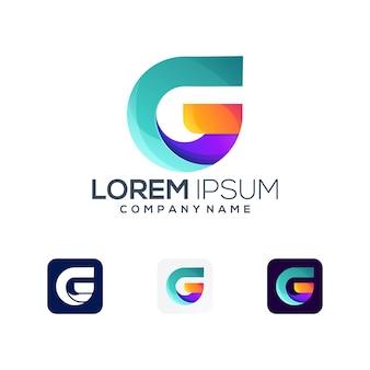 Lettera g logo premium