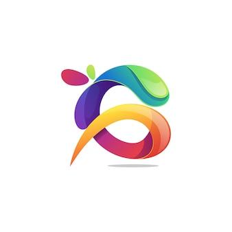 Lettera g logo vettoriale