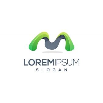 Lettera m logo