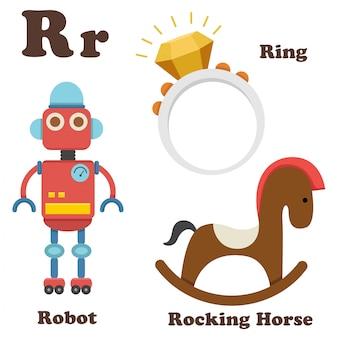 Lettera r alfabeto