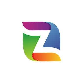 Lettera z logo vettoriale