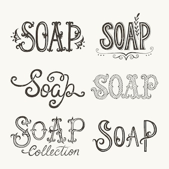 Lettere di sapone
