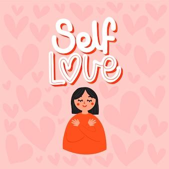 Lettering amore per se stessi