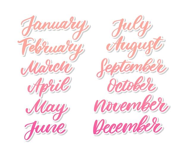 Lettering mese