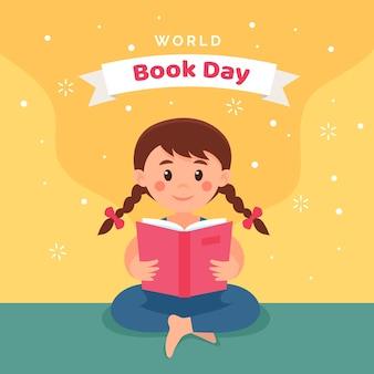Lettura del bambino in giornata internazionale