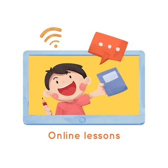 Lezioni online per bambini