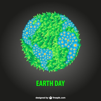 Libero earth day illustrazione